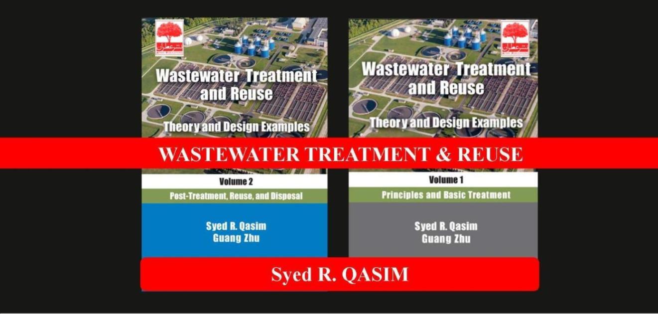 کتاب زبان اصلی تصفیه و استفاده مجدد فاضلاب- سید قسیم 2018-نشر عطران- wasteater treatment and reuse-QASIM-atran- 2018